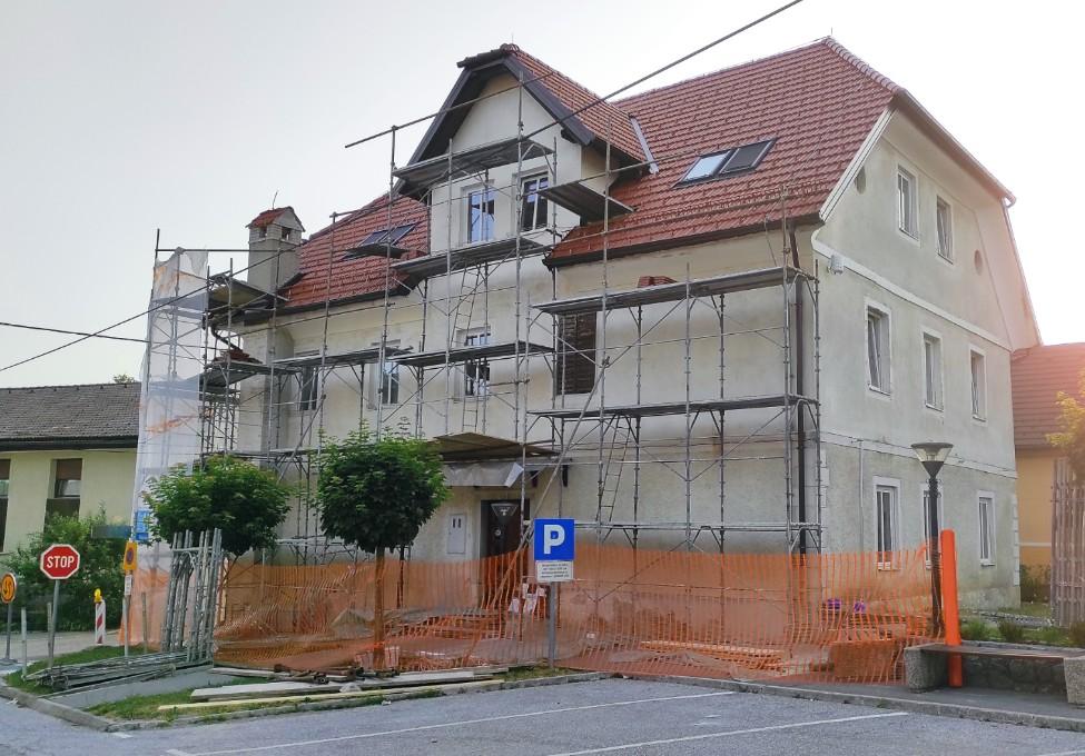Obnova fasade glasbene šole